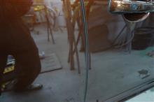【ボルボ XC60 右側面いたずらキズ修理・塗装(車両保険)】 東京都昭島市よりご来店のお客様です