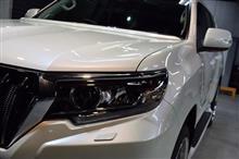 「コンプリートカー」トヨタ ランドクルーザープラドのガラスコーティング【リボルト神戸】