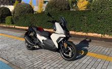 BMW C400Xスクーター