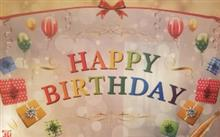 今年の誕生日は