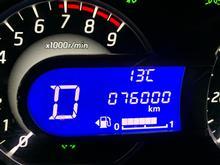 祝76,000km