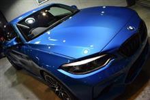 高性能コンパクトクーペ。BMW・M2 Competitionのガラスコーティング【リボルト川崎】