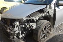 【トヨタ オーリス 左側面事故 板金・塗装・修理】東京都東大和市よりご来店のリピーター様です