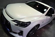 限定350台!。トヨタ・マークX GRMNのガラスコーティング【リボルト川崎】