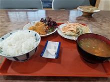 豊田南部のレトロ食堂にて豚カツと天ぷらを愉しむ