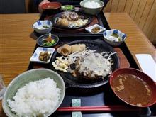 シートカバー装着後、松阪にてハンバーグを愉しむ