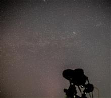 先週の星撮り --- スバルと蟹。