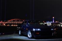 写活@夜景×スカイラインGTS-R