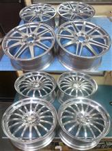 カールソン19インチ&22インチ鋳造(CAST)バレル2次元研磨パウダーアクリルクリアー