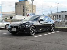 トータルアライメント調整..BMW F30 320d 更にリジカラ+BMC