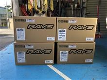 RAYS TE37Vを明日の準備!!E46 M3!!