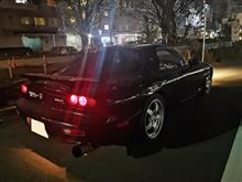 FD3S用車高調SecondLine夜な夜な試乗