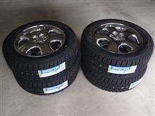 冬季タイヤ交換と冬の備え