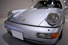 人気の空冷!ポルシェ・911(964)のガラスコーティング【リボルト姫路】