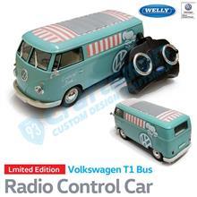 クリスマスプレゼントにぜひどうぞ!:数量限定 WELLY社製 Volkswagen Type1 Bus Café Radio Control Car(ラジコン)