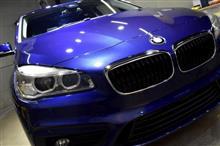 シティ派にぴったり!BMW2シリーズ・グランツアラーのガラスコーティング【リボルト湘南】
