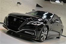 漆黒 トヨタ クラウンの新車カーコーティング【リボルト名古屋】