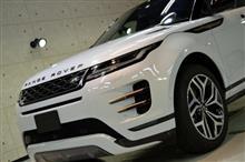 洗練されたSUV レンジローバー イヴォークの新車カーコーティング【リボルト名古屋】