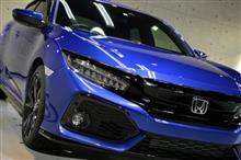 英国製日本車 ホンダ・シビックの新車カーコーティング【リボルト名古屋】
