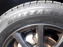 タイヤを再交換!!