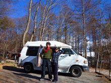(ダッジラム)冬キャンプ