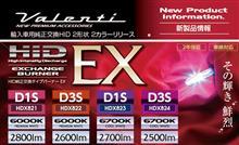 輸入車用純正交換HIDバーナー 『D1S/D3S』リリース!