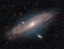 12月の星撮り第2弾 --- オリオン座の星雲。