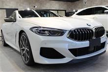 BMW M850i xDriveクーペのガラスコーティング【リボルト郡山】