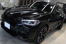 BMW X4 Mコンペティションのガラスコーティングとシートコーティング【リボルト郡山】