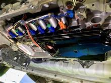 ちょっとシビアになりました。ハイエース4.5型2.8Lディーゼル6AT車のATF交換。