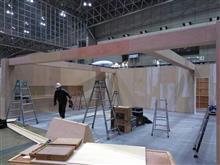 東京オートサロン2020 ブース設営開始!!