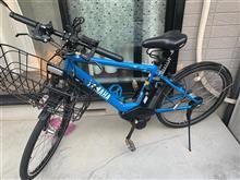 自転車のサドルのクッション性が改善できました