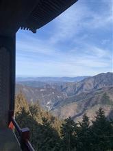 三峰山 三峰神社参拝