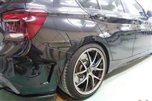 【BMW 135i 右側面事故 キズ&へこみ板金・塗装・修理(車両保険)】東京都小平市よりご来店のリピーター様です