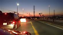 小倉陸橋から見る夕暮れ時の富士山  #川崎 #小倉陸橋 #富士山 #夕暮れ時 #夕焼け