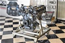 R35 GTR HKSコンプリートエンジン オーバー1000馬力 シリカブレス(^^)/