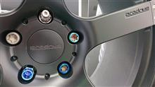 鍛造チタニウムナット20個セットでスチールナットが約600個買えますが、満足度は高いですよ。