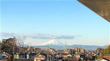 富士山が見通せる場所