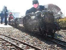 5インチゲージ蒸気機関車C58277、2020年初走行