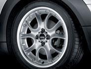 USEDタイヤ&ホイール4本セット MINIクラブマンR55純正品