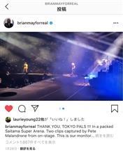 0126日【セトリ&動画】QUEEN + ADAM LAMBERT『THE RHAPSODY TOUR』@東京