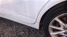 【トヨタ プリウスα 左側面事故 キズ&へこみ板金・塗装・修理】東京都立川市内よりご来店のリピーター様です