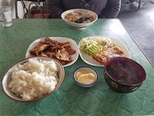 豊田市街のレトロ食堂にて朝からガッツリと焼肉を愉しむ