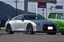 R35 GT-R 車検整備&LED(^^)/