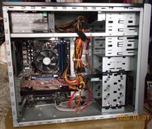 i7-860タワーPCの分解洗浄組立とWin10組込み