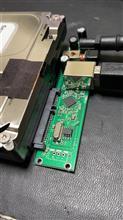 USBハードディスクの救済