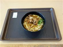 西名阪自動車道下り天理PA 肉カレーうどん590円