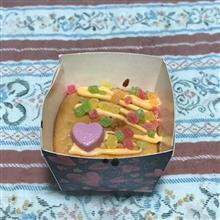 娘の作ったカップケーキ