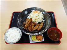 東名阪自動車道上り亀山PA とんてき定食1080円