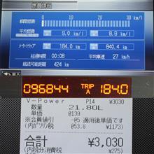 アコード燃費報告2/22